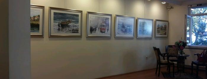Sevgi Sanat Galerisi is one of สถานที่ที่ Ekrem ถูกใจ.