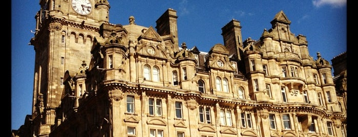The Balmoral Hotel is one of edinburgh.