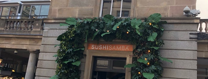 SUSHISAMBA Covent Garden is one of London.