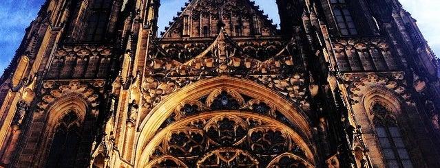 Katedrála sv. Víta | Saint Vitus' Cathedral is one of Nejlepší výhledy v Praze.