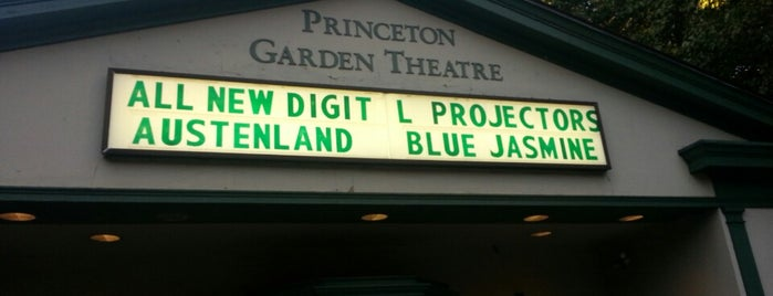 Princeton Garden Theatre is one of Locais curtidos por Eileen.
