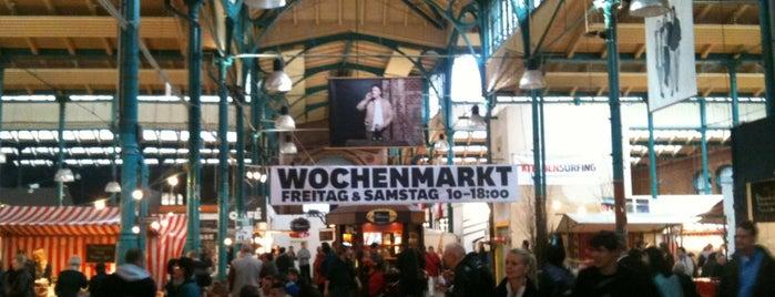 Markthalle Neun is one of Ich bin ein Berliner.