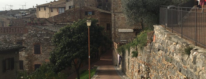 San Gimignano is one of Toscana, Piemonte, Liguria, Emilia-Romagna.