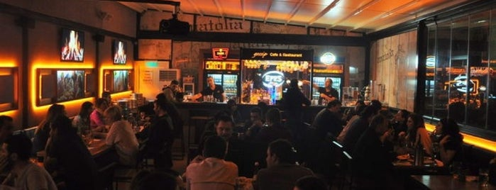 Gossip Cafe & Restaurant is one of Ugur e..