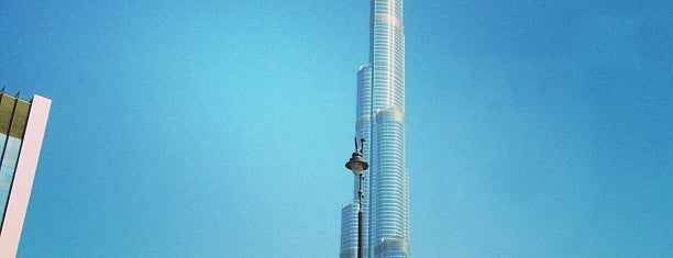 Burj Khalifa is one of dubai.
