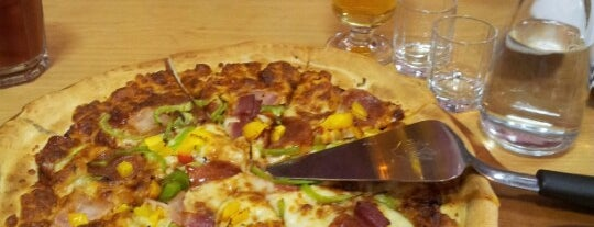 Pizza Hut is one of Бесплатные сортиры.