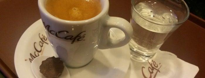 McCafé is one of Coffee & Tea.