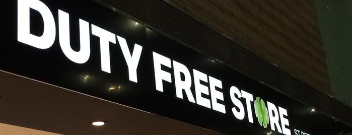 Duty Free Store is one of Lieux qui ont plu à Greta.