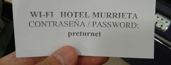 Hotel Murrieta Logroño is one of Lugares favoritos de Tony.