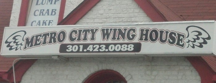 Metro City Wing House is one of 2012 Cheap Eats.