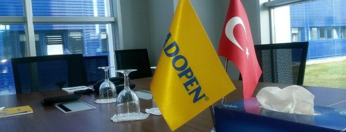 Adopen is one of สถานที่ที่ Eser ถูกใจ.