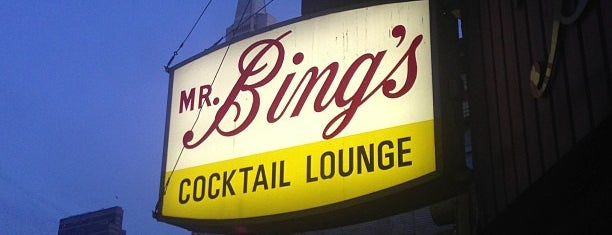 Mr. Bing's is one of Anthony Bourdain: The Layover.