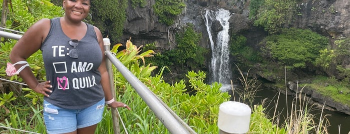 Seven Sacred Pools- Oheo Gulch is one of Maui.