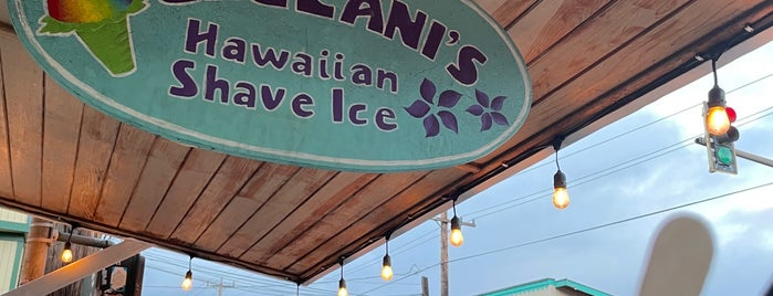 Ululani's Hawaiian Shave Ice is one of Maui.