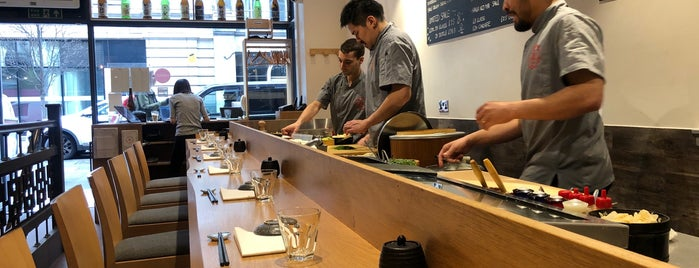 Sushi Atelier is one of Want to Try Out New.