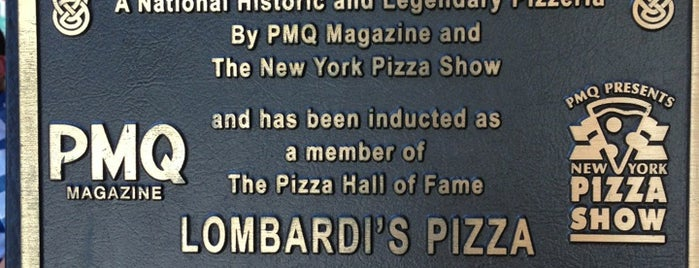 Lombardi's Coal Oven Pizza is one of New York Places.