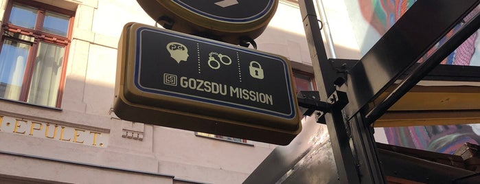 Gozsdu Mission - Escape Rooms is one of Locais salvos de Ellie.