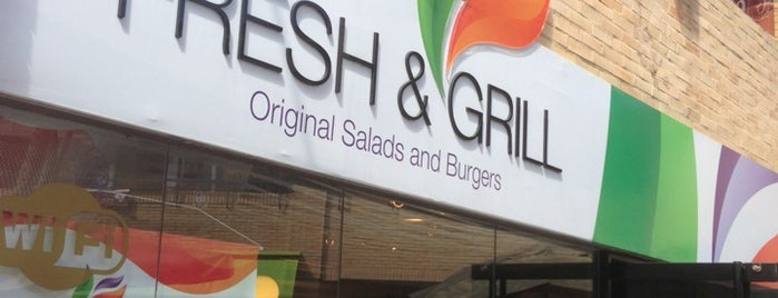 Fresh & Grill  Original Salad and Burgers is one of Sitios para ir (comida).