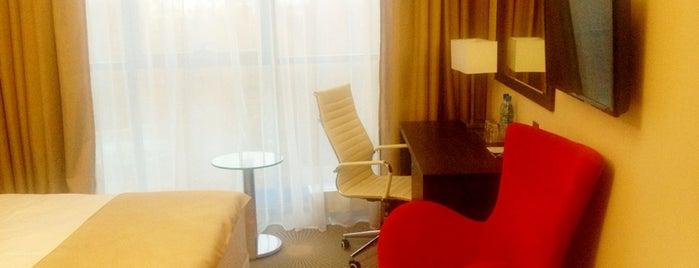Aquamarine Hotel&Spa is one of สถานที่ที่ Anastasia ถูกใจ.
