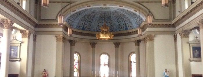 Sacred Heart Of Jesus Catholic Church is one of Tempat yang Disukai Amy.