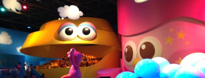 Elmo's Bubble Bubble is one of Universal Studios Japan.