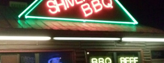 Shivers Bar-B-Q is one of USA Miami.