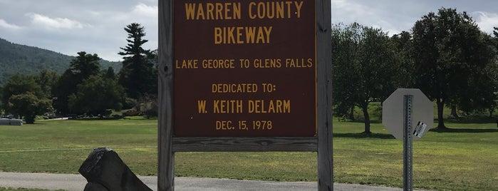 Warren County Bike Trail is one of Lake George 2K19.