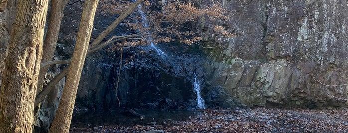 Hemlock Falls is one of สถานที่ที่บันทึกไว้ของ Lizzie.