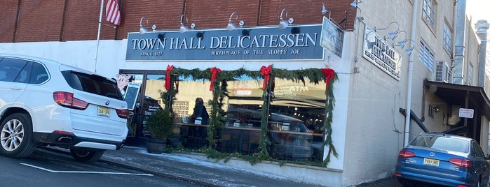 Town Hall Delicatessen is one of places.