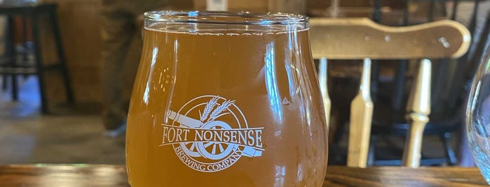 Fort Nonsense Brewing Company is one of New Jersey Breweries.