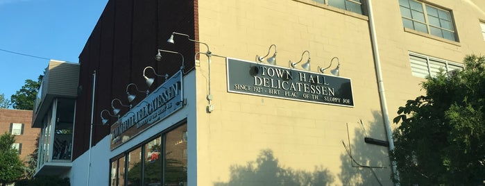 Town Hall Delicatessen is one of Best Places to Check out in United States Pt 3.