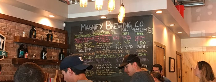 Magnify Brewing is one of Posti salvati di Kay.
