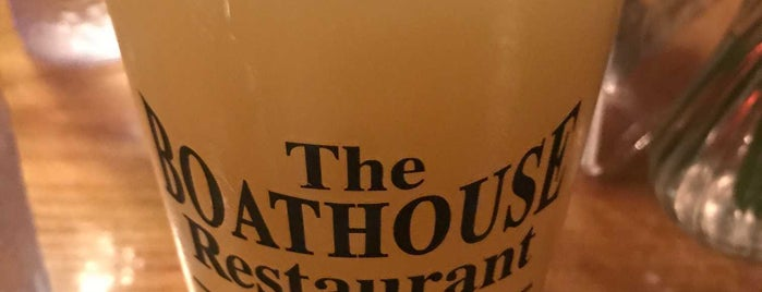 The Boathouse Restaurant is one of Lake George.
