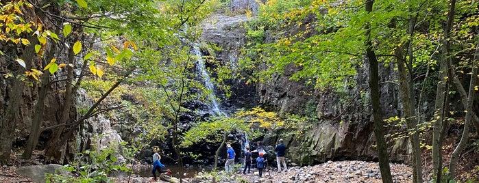 Hemlock Falls is one of NJ Waterfalls.