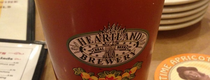 Heartland Brewery is one of nYc.