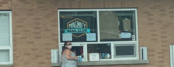 Magnify Brewing is one of Lizzieさんの保存済みスポット.
