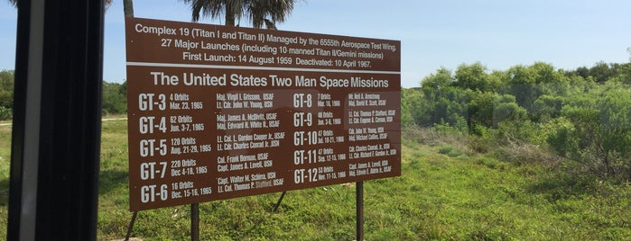 Cape Canaveral Air Force Station is one of Discover Florida's Space Coast.