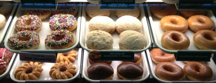 Krispy Kreme is one of สถานที่ที่บันทึกไว้ของ Mauricio.