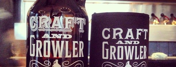 Craft and Growler is one of Dallas Favorites.