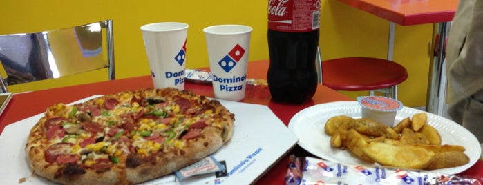 Domino's Pizza is one of Posti che sono piaciuti a ✨💫GöZde💫✨.