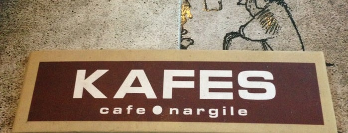 Kafes Cafe & Nargile is one of Sevket 님이 좋아한 장소.