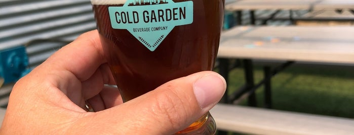 Cold Garden Beverage Company is one of Calgary.