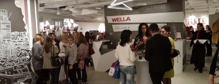 Wella World Studio is one of Tempat yang Disukai Roman.