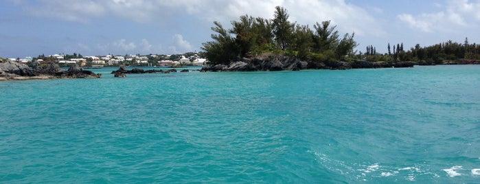 Sandys Boat Club is one of Orte, die Mark gefallen.