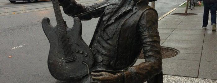 Jimi Hendrix Statue is one of Seattle.