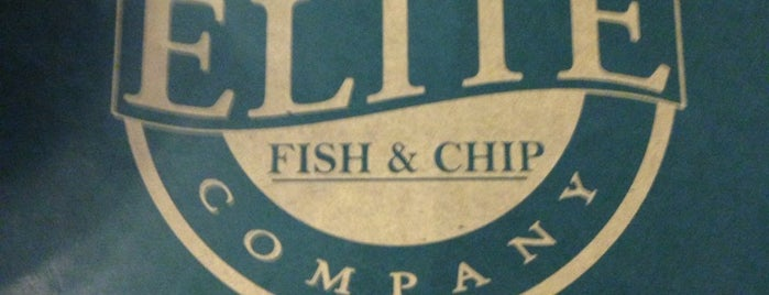Elite Fish & Chips is one of Carl 님이 좋아한 장소.