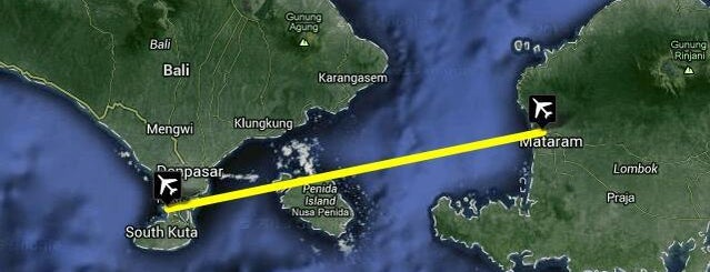 Selaparang International Airport (AMI) is one of Part 1~International Airports....
