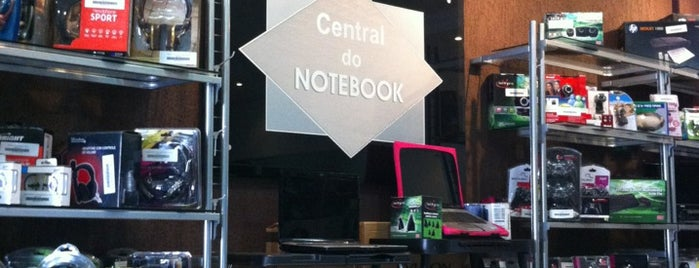 Central Do Notebook is one of Thiagoさんのお気に入りスポット.