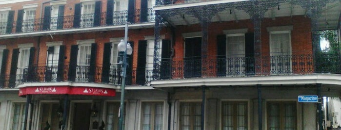 Saint James Hotel is one of New Orleans.