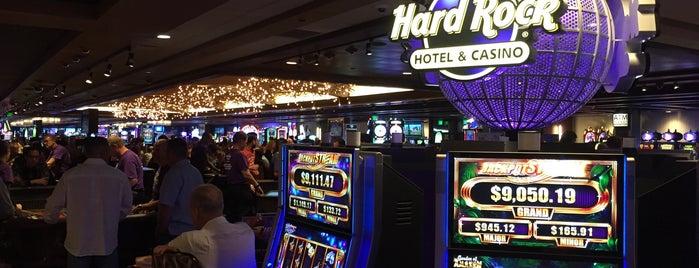 Hard Rock Hotel & Casino is one of Posti che sono piaciuti a Rocky.